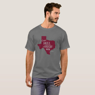 Marrón fuerte de la camiseta de los #Texas del