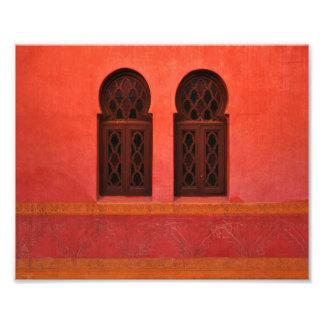 Marroquí Riad, Marrakesh Marruecos Impresiones Fotográficas