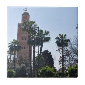 Marruecos Azulejo Cuadrado Pequeño
