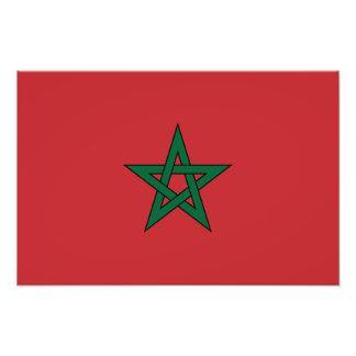 Marruecos - bandera marroquí impresiones fotograficas
