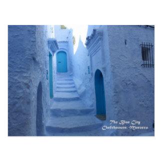 Marruecos, Chefchaouen, la ciudad azul Postal