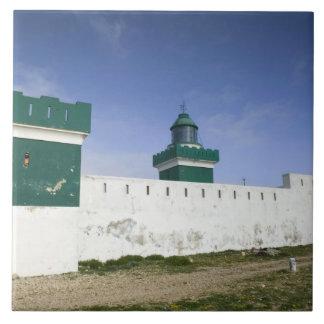 MARRUECOS, costa atlántica, BEDDOUZA: Casquillo Be Azulejo Cuadrado Grande