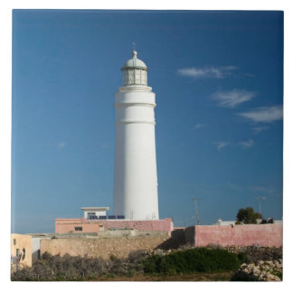 MARRUECOS, costa atlántica, CASQUILLO RHIR: Casqui Azulejo Cuadrado Grande