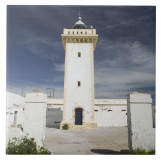 MARRUECOS, costa atlántica, ESSAOUIRA: Essaouira Azulejo Cuadrado Grande