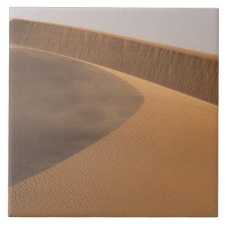 Marruecos, dunas de arena, valle de Draa Azulejo Cuadrado Grande