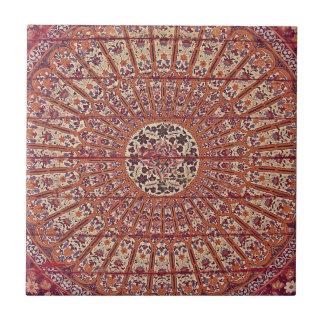 Marruecos elegante y elegante Patern Azulejo Cuadrado Pequeño