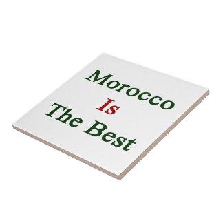 Marruecos es el mejor tejas  cerámicas