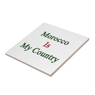 Marruecos es mi país azulejos ceramicos
