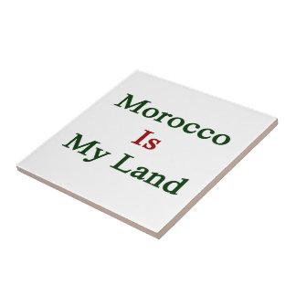 Marruecos es mi tierra azulejos