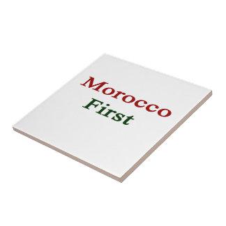 Marruecos primero