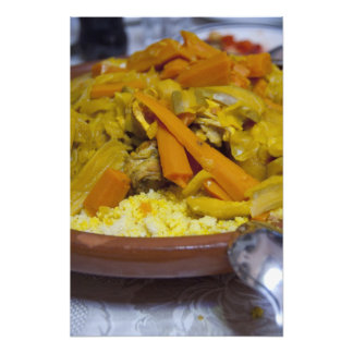 Marruecos, Tetouan. Comida marroquí tradicional de Fotos