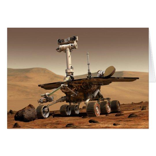 Marte Rover Tarjeta De Felicitación