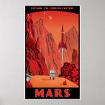 Marte: versión grande poster