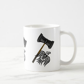 Martillo de la guerra de Viking del Thor Taza De Café