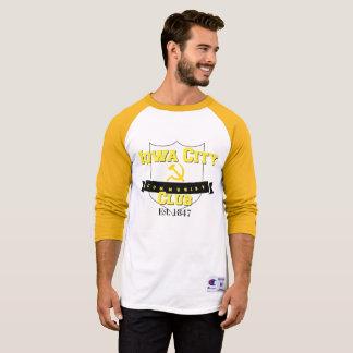 Martillo del club el | de Iowa City y camiseta