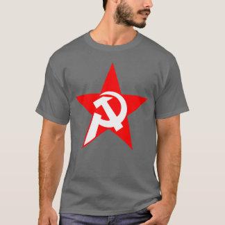 Martillo y hoz comunistas camiseta