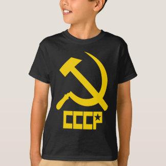 Martillo y hoz de CCCP Camiseta