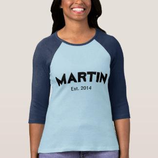 Martin (Est. 2014) Camisetas