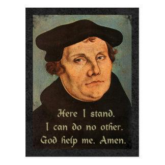 Martin Luther aquí coloco la cita Postal