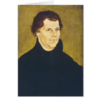 Martin reformista protestante Luther de L. Cranach Felicitaciones