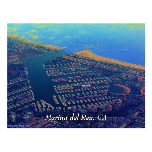 Martina del Rey, Marina Del Rey, CA Tarjetas Postales