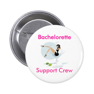 martini_girl, Bachelorette, equipo de la ayuda Chapa Redonda 5 Cm