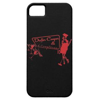 martini y caja roja y negra de la música - del funda para iPhone SE/5/5s
