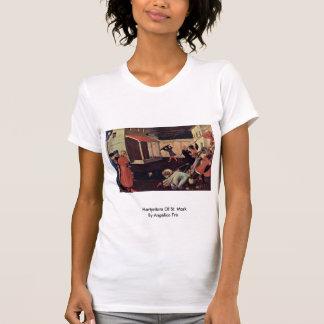 Martirio de St Mark por Angelico Fra Camiseta