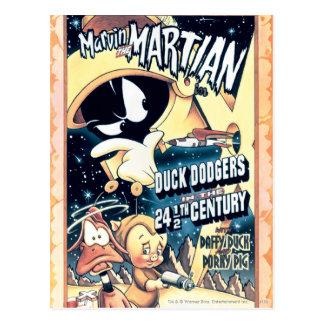 MARVIN EL MARTIAN™, EL DAFFY DUCK™ y el Elmer Postal