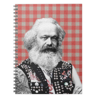 Marx punky cuaderno