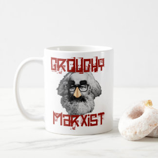 Marxista malhumorado taza de café