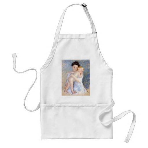 Mary Cassatt: Dulzura maternal Delantales