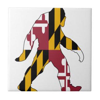 Maryland Bigfoot Azulejo De Cerámica