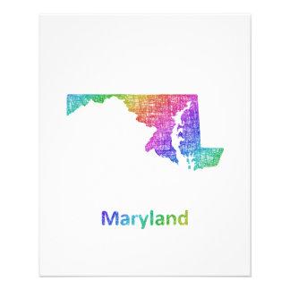 Maryland Folleto 11,4 X 14,2 Cm