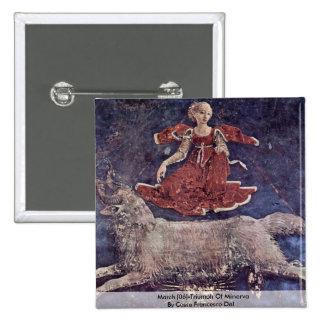 Marzo [06] - Triumph de Minerva Chapa Cuadrada 5 Cm