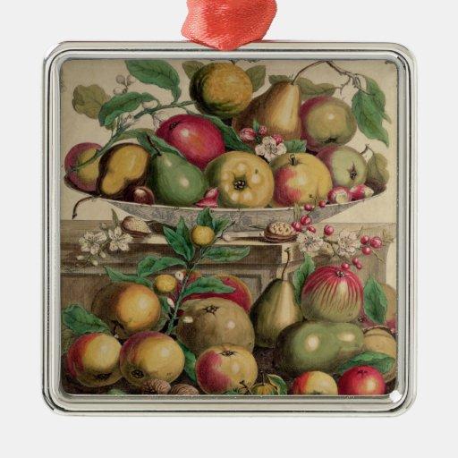 Marzo, a partir de 'doce meses de las frutas adorno de navidad