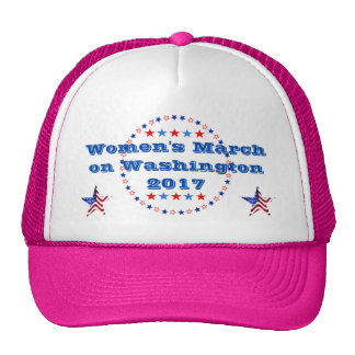 Marzo de las mujeres en Washington 2017 Gorras