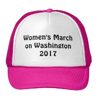 Marzo de las mujeres en Washington 2017 Gorras De Camionero