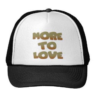 Más al amor gorra