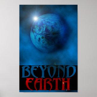 Más allá de la tierra posters