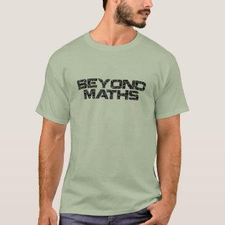 Más allá de matemáticas camiseta