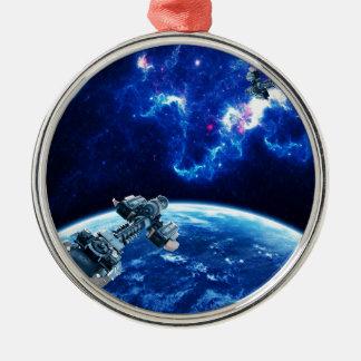 Más allá del azul ornaments para arbol de navidad