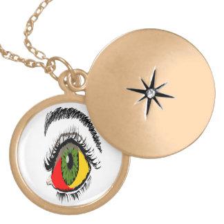 Más allá del ojo Locket~ LMG (c) 2013 Colgante Personalizado