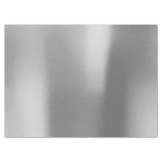 Más astuto metálico atractivo de acero de los gris papel de seda