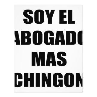 Mas Chingon del EL Abogado de la soja Flyer Personalizado