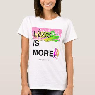 Más es un gráfico más inspirado del brillo de la camiseta