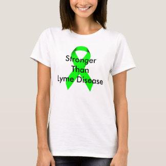 Más fuerte que la enfermedad de Lyme Camiseta