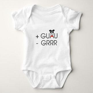 Más Guau y Menos Grrrr Body Para Bebé