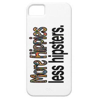 Más hippies menos caja del teléfono de los funda para iPhone SE/5/5s