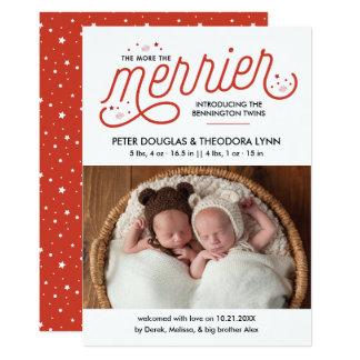 Más la invitación de los gemelos de Felices